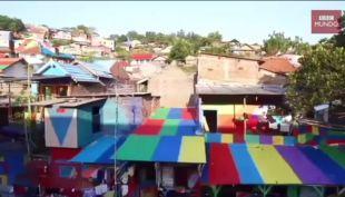 [VIDEO] La bonita razón por la que este barrio se está convirtiendo en una atracción turística