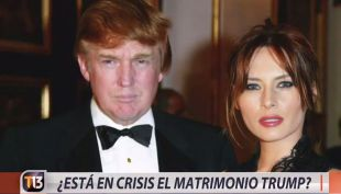 [VIDEO] ¿Está en crisis el matrimonio de Donald Trump?