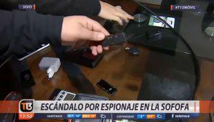 [VIDEO] Escándalo en la Sofofa: ¿Cómo funcionan los micrófonos espías?
