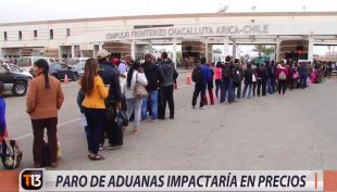 [VIDEO] Paro de aduanas impactaría en los precios de productos
