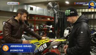 [VIDEO] ¿Cómo tensar las cadenas de nuestra moto? Jeremías Israel nos explica en D13 motos