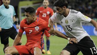 [VIDEO] En un gran partido Chile empata ante Alemania con golazo de Alexis Sánchez