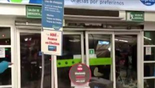 [VIDEO] Turbazo en supermercado deja a un guardia herido
