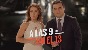 [VIDEO] A las 9pm en el 13