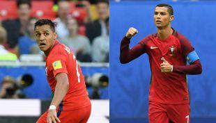 [VIDEO] Choque de titanes: Alexis Sánchez versus Cristiano Ronaldo
