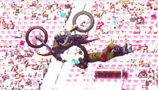 [VIDEO] El salto con que Astroboy Villegas brilló en freestyle de Nitro World Games