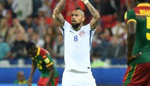 [VIDEO] Arturo Vidal: Rey y guerrero jugando por Chile