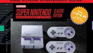 Super Nintendo anuncia su regreso con 20 clásicos y una novedad intergaláctica