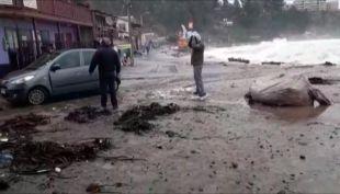 [VIDEO] Expertos creen que las playas de la región de Valparaíso no se recuperarán antes del verano
