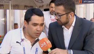 [VIDEO] Hincha en Rusia adelanta a lo Claudio Palma triunfo de Chile ante Portugal