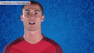 [VIDEO] Arturo Vidal y Cristiano Ronaldo ingresan con su mensaje a los Protectores del Fútbol