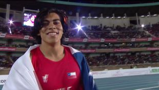[VIDEO] La historia de Claudio Romero, la nueva esperanza del atletismo chileno