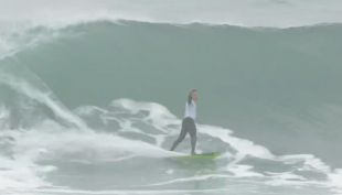 [VIDEO] Chilenos brillan en competencia de surf frente a las costas de Arica