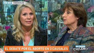 [VIDEO] El duro enfrentamiento entre Pilar Molina y Lily Pérez por debate de aborto