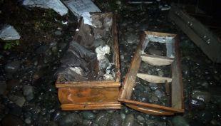 [VIDEO] Indignante situación vivida en cementerio de Curicó: botaron ataudes y lápidas al río