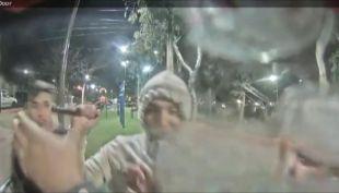 [VIDEO] Vecinos de Las Condes indignados por destrucción de cámara de seguridad