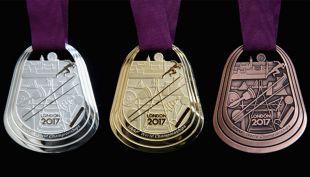 [VIDEO] Conoce las medallas que recibirán los atletas en el Mundial de Londres 2017