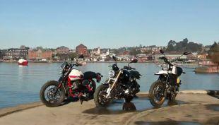 [VIDEO] #D13Motos al estilo retro recorre el sur de Chile con Ducati, Moto Guzzi y BMW