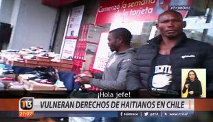 El drama laboral de los haitianos en Chile