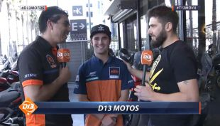 [VIDEO] Tomás de Gavardo visita D13 Motos para comentar el Atacama Rally