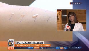 María Teresa Parada - Dra Broncopulmonar Clínica Las Condes