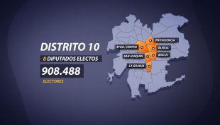 [VIDEO] Parlamentarias 2017: La batalla por el polémico distrito 10