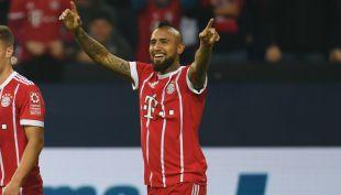 [VIDEO] El golazo de Arturo Vidal en triunfo de Bayern Münich en la Bundesliga