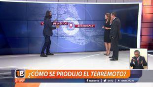 [VIDEO] ¿Cómo se produjo el terremoto en México?