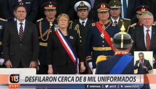 [VIDEO] La última Parada Militar de la Presidenta Bachelet