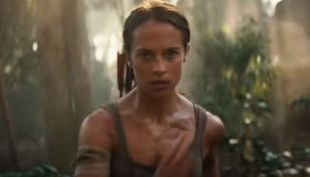 "Alicia Vikander como ""Lara Croft"""