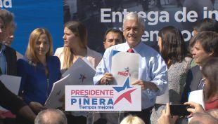 [VIDEO] Las bases del programa medioambiental que propone Piñera