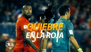 """[VIDEO] El quiebre ahora es público: """"La Roja"""" se descarga por redes sociales"""