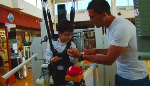 [VIDEO] Así fue la visita de Universidad de Chile al Instituto Teletón de Santiago