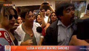 [VIDEO] El emotivo discurso de Sánchez tras votar: Estoy orgullosa de lo que hemos hecho
