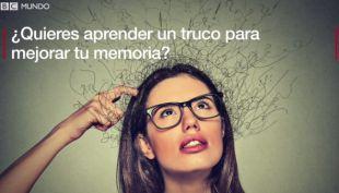 [VIDEO] El truco del campeón de memoria europeo para memorizar mucha información en poco tiempo