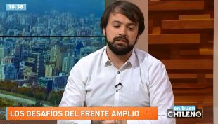 Jorge Sharp: La derecha y Sebastián Piñera es el adversario político del Frente Amplio