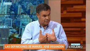 Manuel José Ossandón: Si Piñera no cumple, le voy a dar como caja