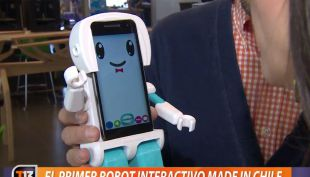 [VIDEO] El primer robot interactivo made in Chile