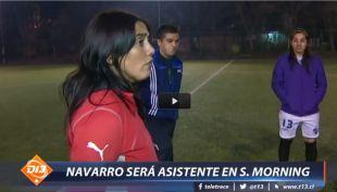 [VIDEO] Crece el poder femenino en el fútbol y Paula Navarro estremece el cuadro de Santiago Morning