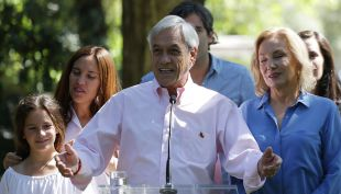 [VIDEO] Piñera tras votar: Esperamos el resultado con mucha humildad y esperanza