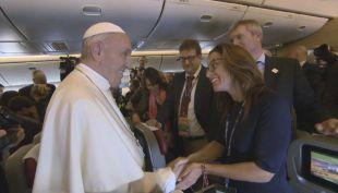 """[VIDEO] Papa Francisco: """"La solidaridad chilena es el recuerdo que no me olvido"""""""