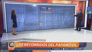 [VIDEO] Los recorridos del Papamóvil