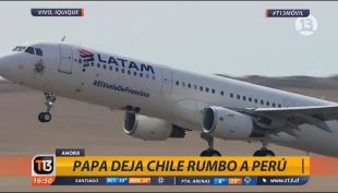 Avión Latam Papa Francisco