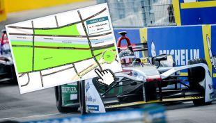Formula E cortes de tránsito en Santiago