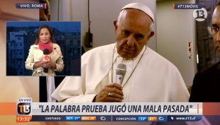 [VIDEO] Constanza Santa María y los detalles del perdón del Papa a víctimas de Karadima