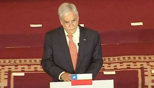 [VIDEO] Piñera presenta su gabinete