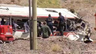 [VIDEO] Accidente en Mendoza: Chofer del bus había consumido droga e iba a exceso de velocidad