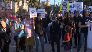 [VIDEO] Residentes de San Miguel protestan por la delincuencia