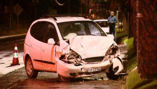 [VIDEO] Cuatro muertos en violento choque en Maipú