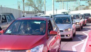 [VIDEO] Tacos por cierre de estacionamientos en el Aeropuerto de Santiago